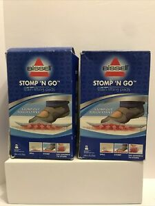 10 total Bissell Stomp 'N Go Stain Lifting Pads NEW Free Shipping ORIGINAL~ HTF