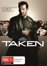 Taken (DVD, 2012) Extended Harder Cut Region 2