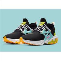 """Nike React Presto GS CJ7690-001 """"Beach Day"""" Size 7Y Women's 8.5 NEW"""