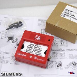 SIEMENS DM1131 AG 479178 HANDFEUERMELDEN MANUAL CALL POINT BOX CASE BS5839