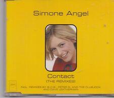 Simone Angel-Contact cd maxi single 6 tracks