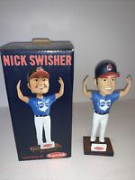 NEW MLB Cleveland Indians Nick Swisher BROhio Bobblehead (GREAT COLLECTABLE)