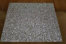SPARKLES HOME LUMINOUS CRYSTALS SQUARE PLACEMAT - SILVER