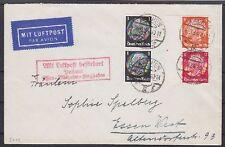 DR ZD S 112, 512 MiF auf Lupo Brief Aachen - Essen m. LPA Mülheim Flughafen 1934