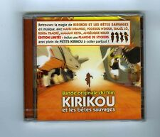 CD (NEW) OST KIRIKOU & LES BETES SAUVAGES (EDITION LIMITEE)