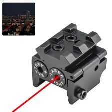 650nm Mini Red Dot Sight Laser w/ Rail Mount f/ Pistol Handgun Low Profile Rifle
