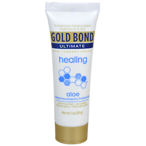 Gold Bond Ultimate Healing Skin Therapy Cream with Aloe, 28 g (1 oz) Hand Lotion