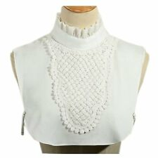 Joyci Simple Ruffles Fake Collar Detachable Dickey Collar Clothes Accessory B