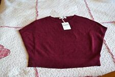 pull  repetto neuf violet don juan 6 ans LAINE CASHEMIRE NOEUD DOS