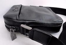 Versace Collection Small Leather Shoulder Messenger Bag-Great Gift