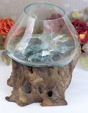 Handgefertigte Deko-Blumentöpfe & -Vasen aus Glas