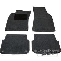 Kit 4 Tappeti Tappetini in tessuto specifici X Audi A6 (4F)