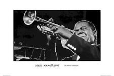 Louis Armstrong ~ Ted Williams 24x36 Muic Poster Jazz Trumpet New/Rolled!
