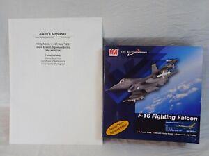 HOBBY MASTER HA3831A 1:72 F-16 FIGHTING FALCON SIGNATURE EDITION GIORA EPSTEIN
