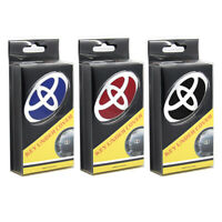 Superior Quality 3 colors Steering Wheel Emblem Overlay Toyota OEM (All toyota)