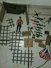 Vintage 1985 Coleco Rambo Savage Strike Enemy Headquarters - Incomplete
