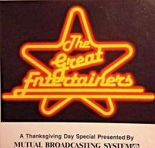 Radio Show:GREAT ENTERTAINERS  THANKSGIVING SPECIAL 11/26/81 DOLLY PARTON,C.RICH