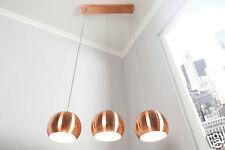 Suspensions cuivre Ball 20cm Ø Réglable Lampe suspendue Salon Lampe 3 il set