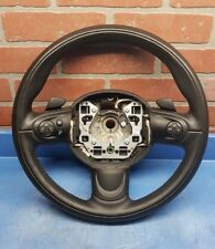 2008-2014 MINI COOPER CLUBMAN STEERING WHEEL BLACK LEATHER R55 OEM 6782597