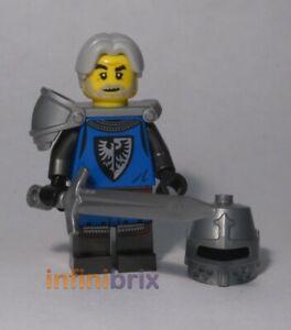 Lego Black Falcon Knight Minifigure from set 21325 Ideas NEW idea085
