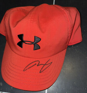 Andy Murray Signed Under Armour Hat With Proof