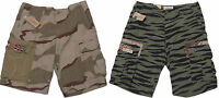Polo Ralph Lauren Denim & and Supply Mens Camo Corps Cargo Flag USA Slim Shorts
