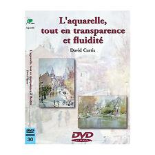 DVD - L'aquarelle tout en transparence et fluidité