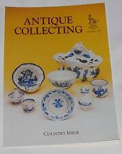 ANTIQUE COLLECTING SEPTEMBER 2000 - COUNTRY ISSUE