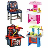 URBN Toys Deluxe 64pc Kids Tool Work Bench Set