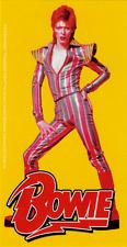 Sticker - David Bowie Posing Jumpsuit Music Glam Rock Pop Uk English Decal 15988