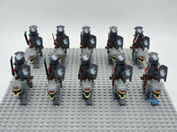 20PCS Lord Of The Rings The Hobbit Azog ORC Wolf riding Army Building Blocks Toy
