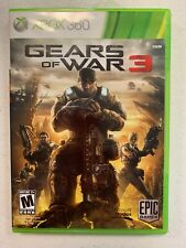 Xbox 360 ~Gears of War 3- Disc, case, stickers No manual Pre Owned