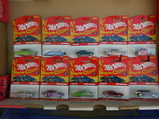 2004 Hot Wheel's Classic's Ser 1 10 different cars Spectra Flame Paint