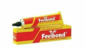 Fevibond synthetic rubber based adhesive -90ml | bonding leather, rubber and toy