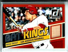 "2015 Donruss ""Bat Kings"" Memorabilia ""Bat Relic"" Mike Trout Los Angeles Angels"