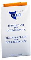 Pflegetuch für Goldschmuck.SILBO, Goldpflegetuch - orange
