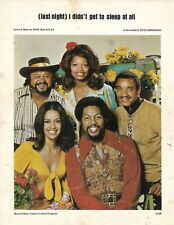 FIFTH DIMENSION (last night) I didn't get to sleep at all SHEET MUSIC