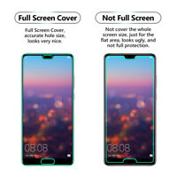 2x FULL SCREEN Face Curved TPU Screen Protector Cover For Huawei P20 Pro