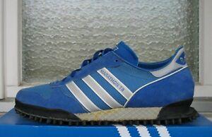 Vintage UNWORN 1980s Adidas Marathon TR UK 9 * zx rochester