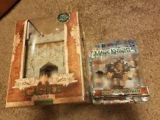 Mage Knight Castle Keep Set & Iron Rain Hill Giant Figure, Both New - Hero Clix