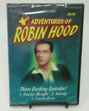 Adventures Of Robin Hood Dvd, 3 Classic Episodes, Richard Greene, Ian Hunter