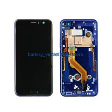 Für HTC U11 NEU Original Touchscreen LCD 5.5'' Display Sapphire Blue+frame