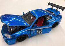 2002 Nissan Skyline GTR R34 1:24 Diecast Car