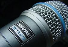 SHURE BETA 57A Supercardioid Dynamic Instrument Mic