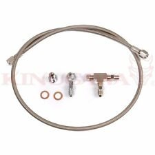 Kinugawa Turbo Oil Feed Line Kit for Garrett GT25 GT28 GT30 GT35 40 inch