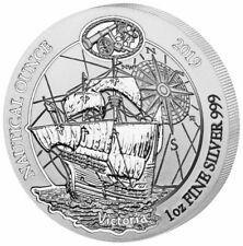 Nautical Ounce 2019 Victoria 1 OZ Unze Silber Silver Argent Ruanda Rwanda