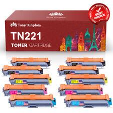 10pk TN221 TN225 Compatible Color Toner Set Brother MFC-9130CW 9330CDW 9340CDW