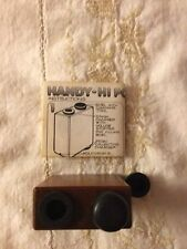 Vintage Brown Wooden Tobacco Hand Hi-pipe Still In Package Made is USA