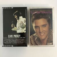 Lot of 2 Elvis Cassette Tapes - Top Ten Hits - Greatest Hits Volume One