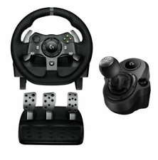 Logitech G920 Driving Force Racing Wheel with shifter - Black NEW XBOX-PC